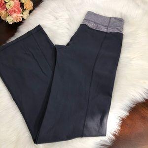 Lululemon Reversible Flare Gray Groove Pants